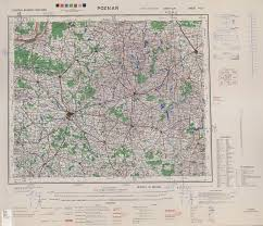 Mc Maps Central Europe Ams Topographic Maps Perry Castañeda Map