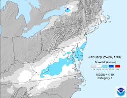 Map Of Central Virginia by Richmond U0027s 25 Greatest Snowstorms