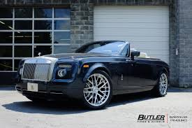 roll royce drophead rolls royce drophead with 24in savini sv65d wheels exclusively