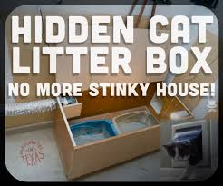 how to hide a stinky cat box 9 steps with pictures