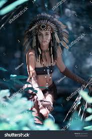 royalty free native american indian woman in u2026 352216424 stock