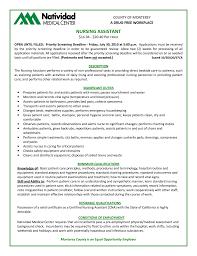 resume objective for nursing assistant picture of nursing