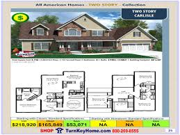 carlisle homes floor plans carlisle all american modular home two story collection plan price