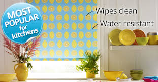 How To Clean Blackout Blinds Kitchen Blinds Easy To Clean Waterproof Blinds For Your Kitchen