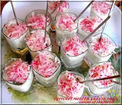 cuisiner les radis roses verrines aux deux fromages et leur manteau de radis cerises