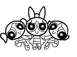 Powerpuff Girls Coloring Pages Bebo Pandco Power Puff Coloring Page