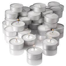 candles tea light candles bulk tealights dlightonline