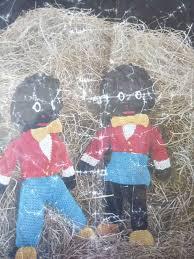 felt golliwog pattern vintage knitting pattern boy girl golliwog soft toy dolls