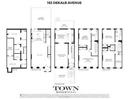 Brooklyn Brownstone Floor Plans Fort Greene Brownstone With 8 Working Fireplaces Asks 3 85