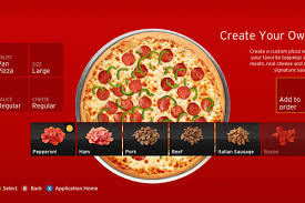 Pizza Hut Pizza Hut Sold 1 Million In Pizzas Through Xbox 360 In Four