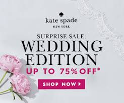 wedding sale my luxefinds kate spade sale wedding edition