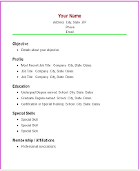 simple format for resume simple resume format pdf resume template basic basic resume