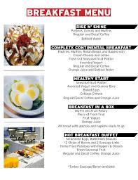 simply good breakfast menu