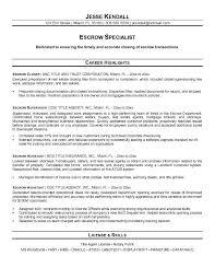 escrow officer resume top 8 escrow officer resume samples 1