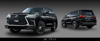 lexus lx 570 off road accessories lexus lx 570 goes crazy with trd grille and body kit in japan