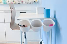 Diy Childrens Desk by Diy Project Children U0027s U0027ikea Hack U0027 Desk Tidy