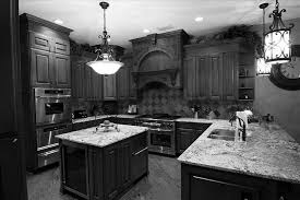 two tone grey kitchen cabinets kitchen decoration