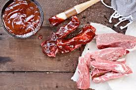 country style pork ribs with bourbon and coke bbq sauce recipe for