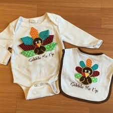 find more wishes thanksgiving onesie bib size 6 12