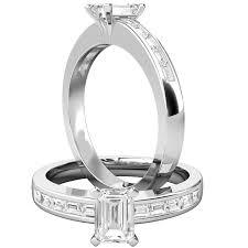 verlobungsring platin diamant solitaer verlobungsring mit schultern fuer dame in platin mit