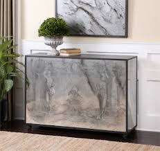 glass mirrored console table best aged mirror console table design console tables consoles and