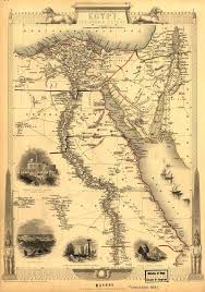 Egypt World Map by Egypt And Arabia 1851 Antique World Maps Old World Map