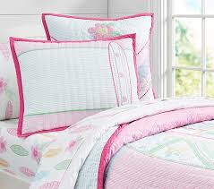 Girls Quilted Bedding by Pacific Surf Quilted Bedding Pottery Barn Kids Pottery Barn