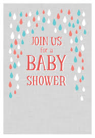 baby shower invites free templates pink and blue raindrops free printable baby shower invitation