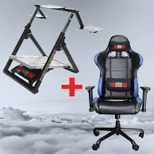 desk chair gaming level flight stand next level racing gaming office chair package
