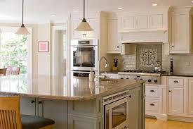 kitchen remodel ideas oak cabinets wooden countertop white wall