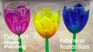 decoart glass paint education