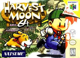 harvest moon harvest moon 64 nintendo 64 game