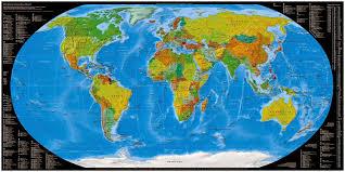 Sattelite World Map by 43 Stocks At World Map Wallpaper Group