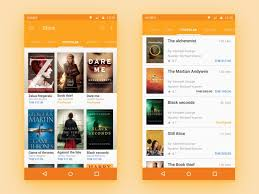 book apps for android audio book material concept material design apps