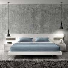 ideas for bedroom with white modern bed editeestrela design