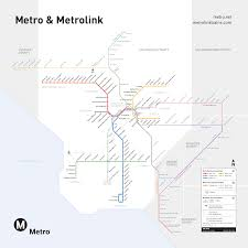 Dc Metro Blue Line Map by Take Metro To The Tournament Of Roses And Rose Bowl Game The Source