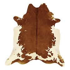 Calfskin Rug Natural Cowhide Rug Medium Brindle Ballard Designs