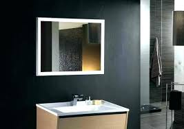 Bronze Mirror For Bathroom Bathroom Mirror With Lights Above Large Frame Top Choose A