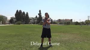 Penalty Flag Football Intramural Officiating Flag Football Signals U0026 Mechanics Youtube