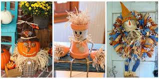 scarecrow halloween decorations scarecrow crafts u2014 how to make a scarecrow