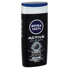 nivea active clean shower gel 250ml from ocado