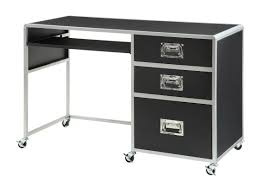 amazing of computer desk with wheels with office table portable