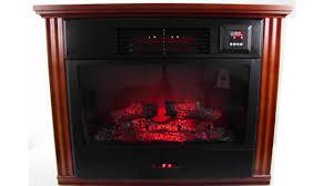 suntec 1200 sq ft infrared quartz fireplace heater fpr3000 youtube
