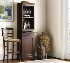 Modular Bar Cabinet Modular Bar With Cabinet Tower Pottery Barn