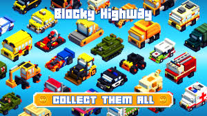 blocky roads version apk blocky highway more endless cubes