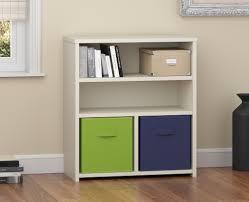 systembuild furniture systembuild 3 shelf cube organizer white