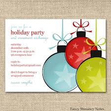 10 best images of office holiday party invitation templates