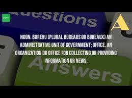 bureau plural what is the plural form of bureau
