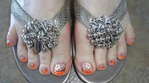 toe nail designs by nini u0027s nails youtube