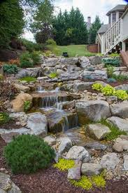 Backyard Water Falls by Kbt Waterfalls Pondless Waterfalls Jardines Pinterest